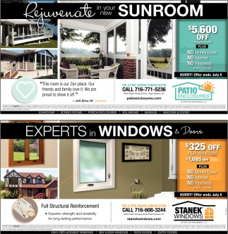 Experts In Windows And Doors