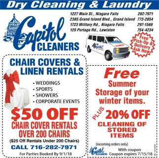 Dry Cleaning And Laundry