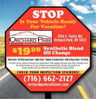 Stop Is Your Vehicle Ready For Vacation?