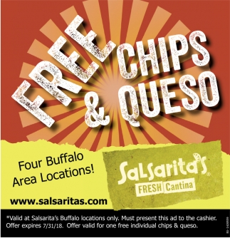 Free Chips And Queso