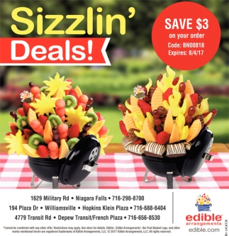 Sizzlin' Deals!