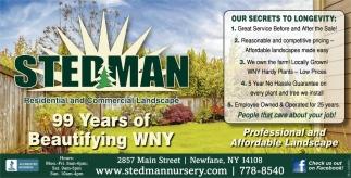 99 Years Of Beautifying WNY