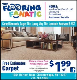 Free Estimates Carpet
