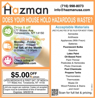 Does Your House Hold Hazardous Waste?