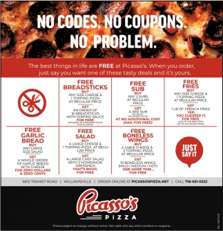 No Codes. No Coupons. No Problem.
