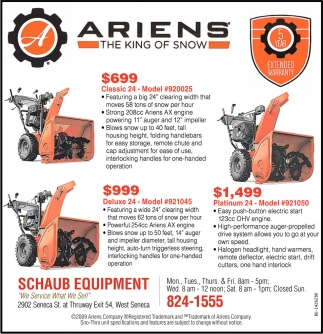Ariens The King Of Snow