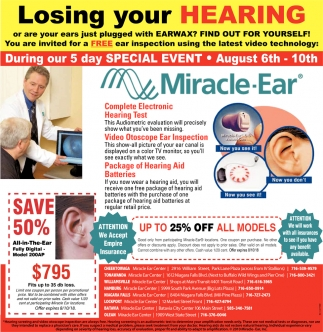 Losing Your Hearing