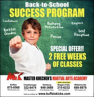 Back-To-School Success Program