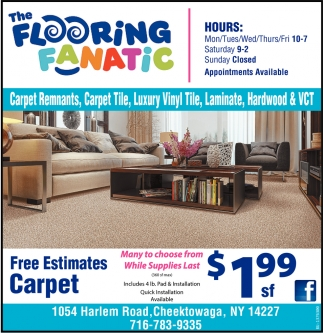 Free Estimates Carpet