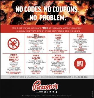 No Codes. No Coupons. No Problem.