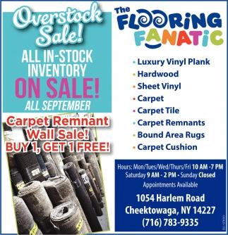 Overstock Sale!