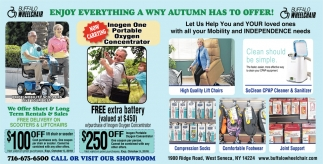 Enjoy Everything A WNY Autumn Has To Offer!