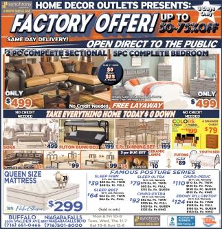 Factory Offer!