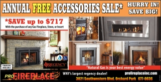 Annual Free Accesories Sale