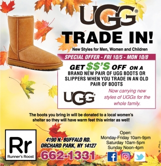 UGG Trade In!