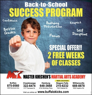 Back-To-School Success Program