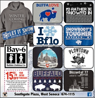 Bay-6 Buffalo Clothing Co.