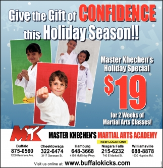 Give The Gift Of Confidence This Holiday Season!!