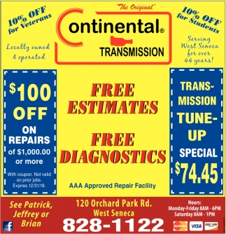 Free Estimates Free Diagnostics
