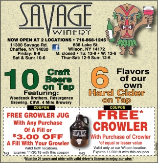 10 Craft Beers On Tap