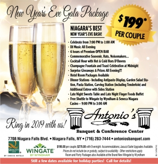 New Year's Eve Gala Package