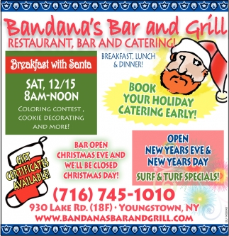 Book Your Holiday Catering Early!