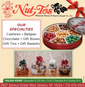 Cashews - Belgian - Chocolate - Gift Boxes