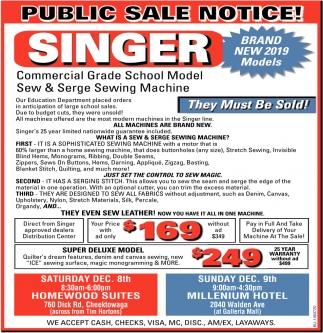 Public Sale Notice!