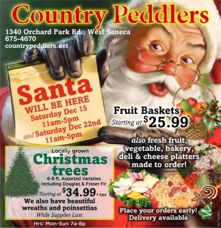 Santa Will Be Here