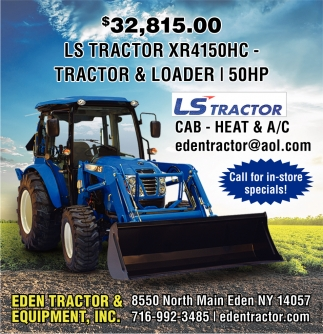 LS Tractor XR4150HC