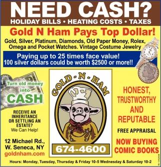 Need Cash?