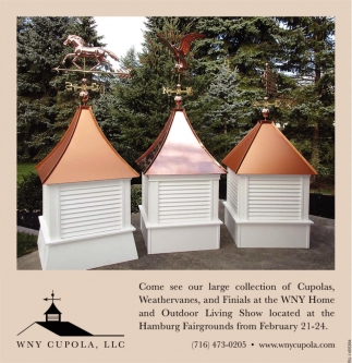 Come See Our Large Collection Of Cupolas