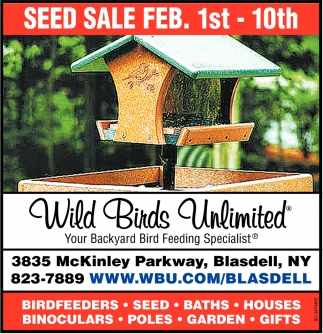 Seed Sale Feb. 1st - 10th