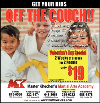 Get Your Kids Off The Couch!!