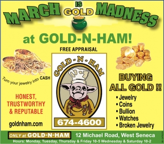 March Is Gold Madness