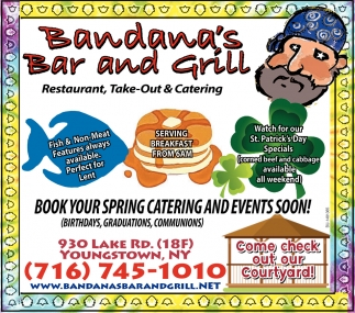 Restaurant, Take-Out & Catering