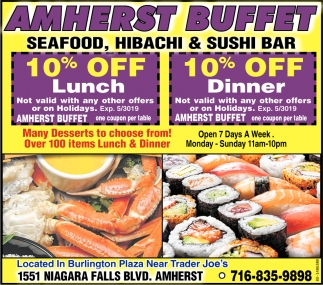 Seafood, Hibachi & Sushi Bar