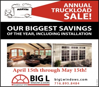 Annual Truckload Sale!
