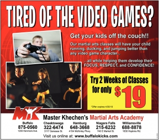 Tired Of The Video Games?