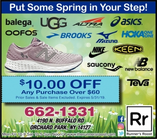 Put Some Spring In YOur Step!