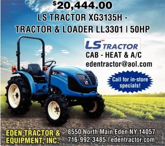 LS Tractor XXG3135H