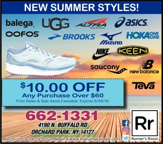 New Summer Styles!
