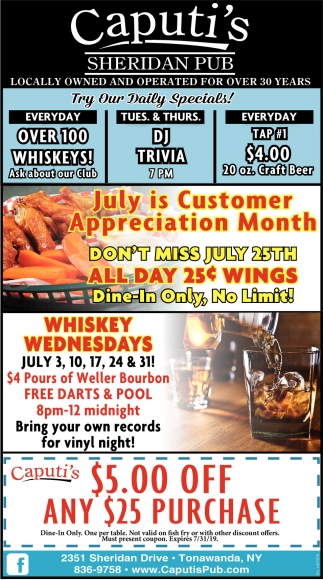 July Is Customer Appreciation Month