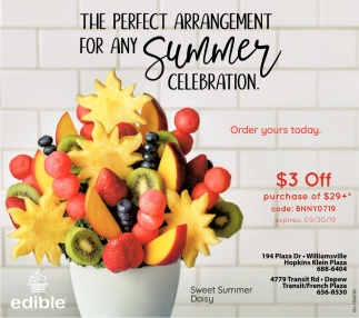 The Perfect Arragement For Any Summer Celebration.