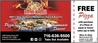 Pizza - Fresh Pasta - Roasted Chicken - Homemade Dessert