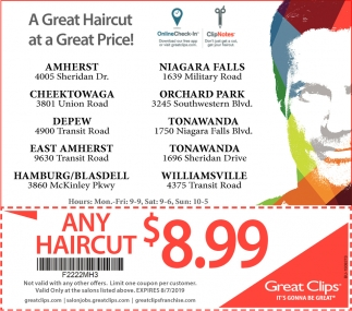 A Great Haircut At A Great Price!