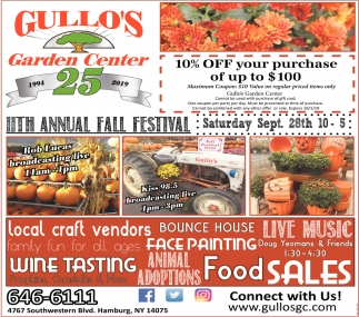 11th Annual Fall Festival