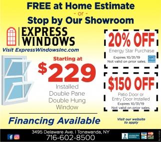 Free At Home Estimate