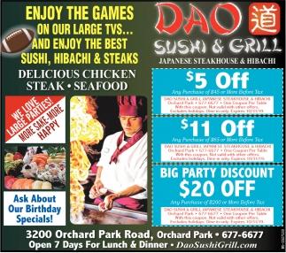 Japanese Steakhouse & Hibachi