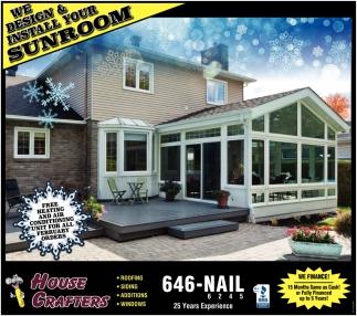 Design & Install Your Sunroom